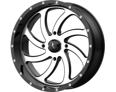 MSA Wheels M36 SWITCH Gloss Black Machined