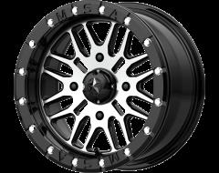 MSA Wheels M37 BRUTE BEADLOCK Gloss Black Machined