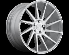Niche Wheels M112 SURGE Gloss Silver Machined
