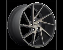 Niche Wheels M163 INVERT Matte Black Machined ring