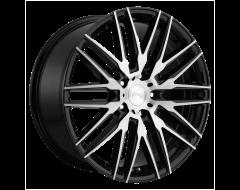 Niche Wheels M165 ANZIO Gloss Black Brushed