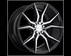 Niche Wheels M166 ASCARI Gloss Black Brushed