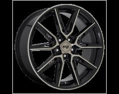 Niche Wheels M219 GEMELLO Gloss Machined Double Dark Tint
