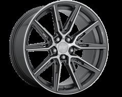 Niche Wheels M220 GEMELLO Gloss Anthracite Machined