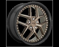 Niche Wheels M227 VICE Matte Bronze Black Bead Ring