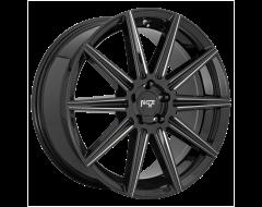 Niche Wheels M243 TIFOSI Gloss Black Milled Spokes