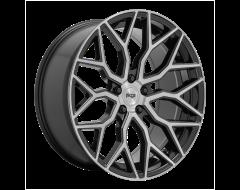 Niche Wheels M262 MAZZANTI Gloss Black Brushed Face