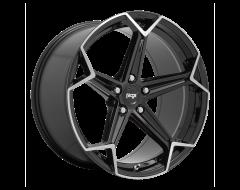 Niche Wheels N259 ARROW Gloss Black Brushed
