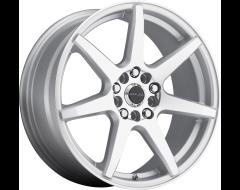 Raceline wheels 131S EVO Silver Machined Face