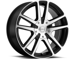 Raceline wheels 145M Encore Gloss Black with Machined Face