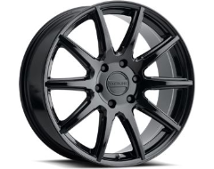 Raceline wheels 159B Spike Gloss Black