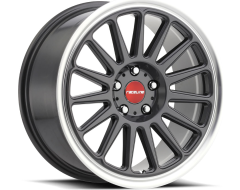 Raceline wheels 315G GRIP Gunmetal Machined Lip