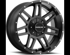 Raceline wheels 931B Injector Satin Black