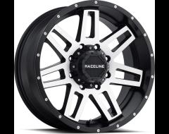 Raceline wheels 931M Injector Satin Black Machined