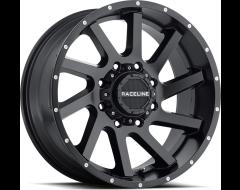Raceline wheels 932B Twist Satin Black
