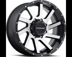 Raceline wheels 932M Twist Satin Black Machined