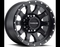 Raceline wheels 934B Clutch Satin Black