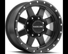 Raceline wheels 935B Defender Satin Black