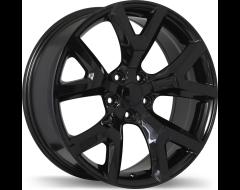 Replika Wheels R165A Gloss Black