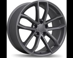 Replika Wheels R199 Matte Gunmetal