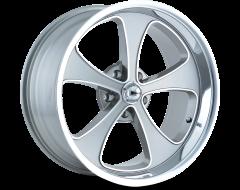 Ridler Wheels 645 Grey Machined Face Polished Lip