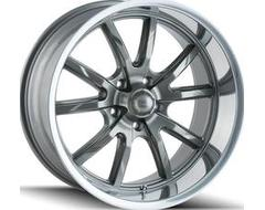Ridler Wheels 650 Grey Polished Lip