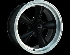 Ridler Wheels 675 Matte Black Machined Lip
