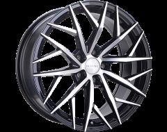 Ruffino Wheels Atrax Gloss Black Machined Face