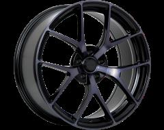 Ruffino Wheels Chronos Gloss Black Machined Smoked Clear Face