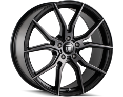 Touren Wheels TF01 3501 Brushed Matte Black with Dark Tint