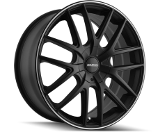 Touren Wheels TR60 3260 Matte Black Machined Ring