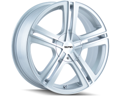 Touren Wheels TR62 3262 Hyper Silver Machined Face Machined Lip