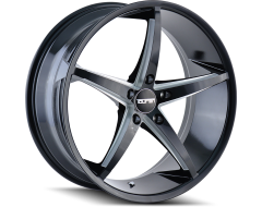 Touren Wheels TR70 3270 Black Milled Spokes