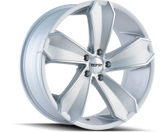 Touren Wheels TR71 3271 Gloss Silver Machined Face
