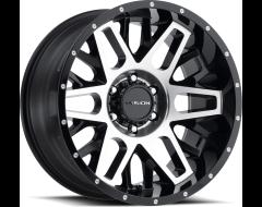 Vision Wheels 111 NEMISIS Gloss Black Machined Face
