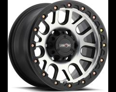 Vision Wheels 111 NEMISIS Matte Black Machined Face