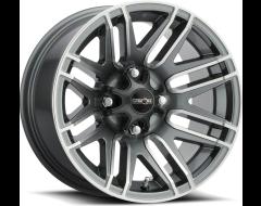 Vision Wheels 112 ASSAULT Gunmetal Machined Face
