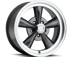 Vision Wheels 141 LEGEND 5 / 6 Gunmetal Machined Lip
