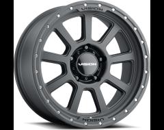 Vision Wheels 350 OJOS Satin Black