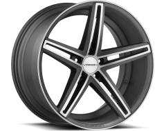 Vossen Wheels CV5 Matte Graphite with Machined Face