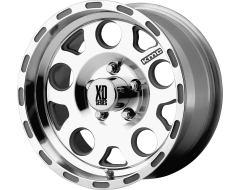 XD Series Wheels XD122 ENDURO Race Machined with No Clearcoat