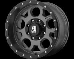 XD Series Wheels XD126 ENDURO PRO Matte Grey Black Reinforcing Ring