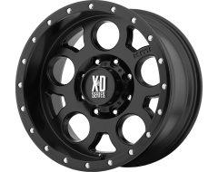 XD Series Wheels XD126 ENDURO PRO Satin Black with Reinforcing Ring