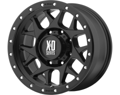 XD Series Wheels XD127 BULLY Satin Black with Reinforcing Ring