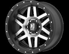 XD Series Wheels XD128 MACHETE Machined Face Black Ring