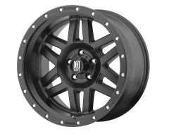 XD Series Wheels XD128 MACHETE Satin Black with Reinforcing Ring