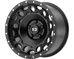 XD Series Wheels XD129 HOLESHOT Satin Black