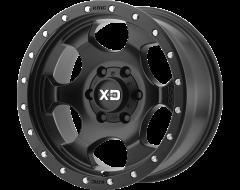XD Series Wheels XD131 RG1 Satin Black with Reinforcing Ring