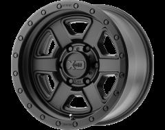 XD Series Wheels XD133 FUSION OFF-ROAD Satin Black