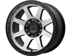 XD Series Wheels XD134 ADDICT 2 Matte Black Machined Face